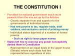 the constitution i