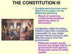 the constitution iii