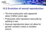 15 2 evolution of sexual reproduction