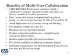 benefits of multi user collaboration
