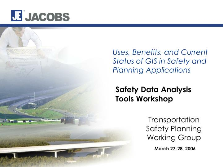 safety data analysis tools workshop n.