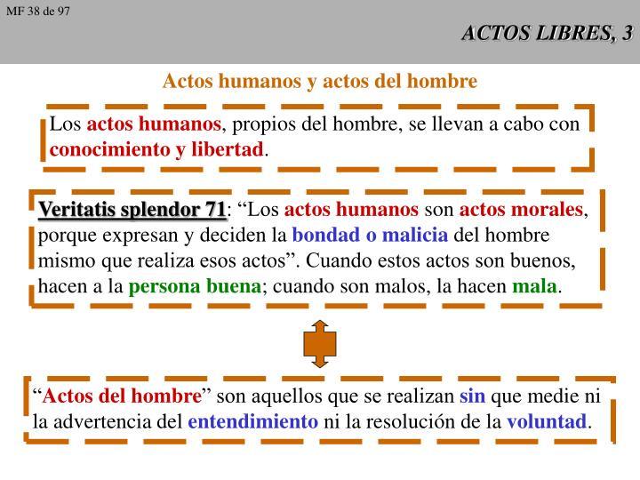 Actos libres 3