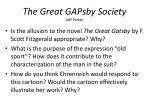 the great gapsby society jeff parker