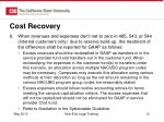 cost recovery4