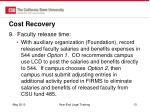 cost recovery5