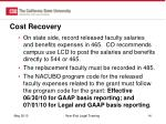 cost recovery6