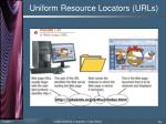 uniform resource locators urls1