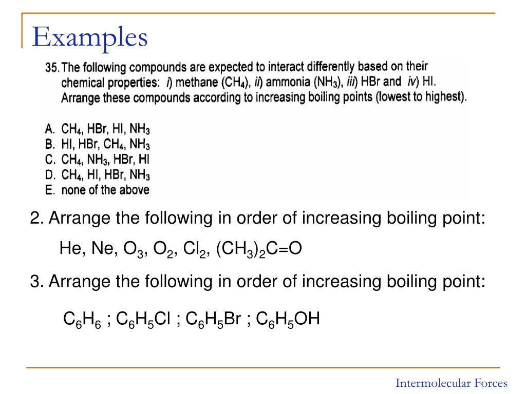 PPT - Chapter 11 : Liquids, Solids, and Intermolecular