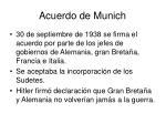 acuerdo de munich