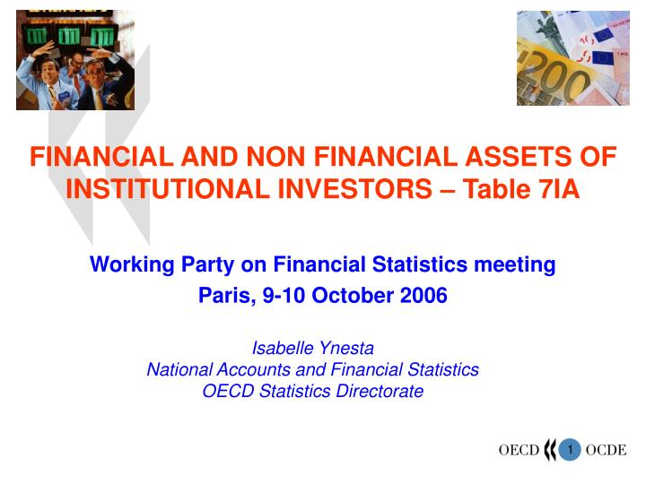 financial and non financial assets of institutional investors table 7ia n.