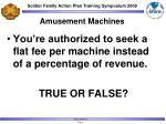 amusement machines