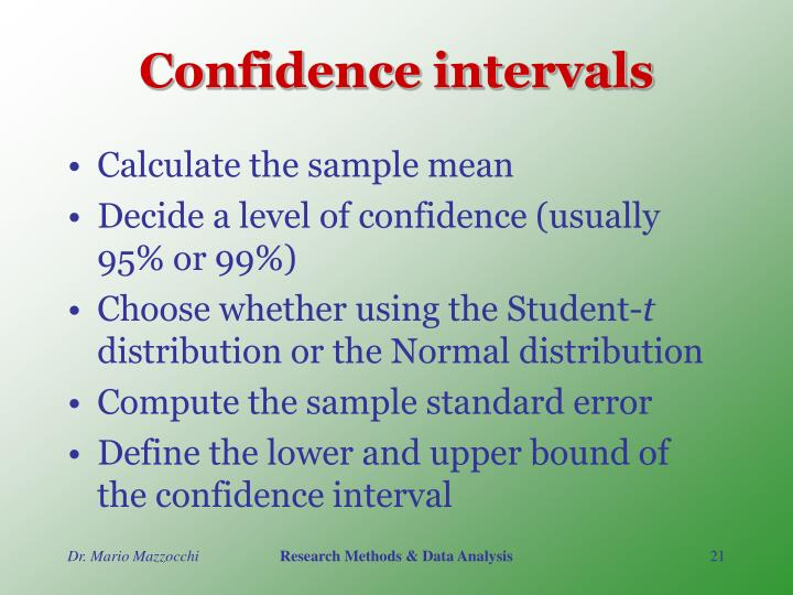 confidence intervals 2 essay Academic essay writers finally, a custom essay, research paper o why do we need confidence intervals 2 find the best point estimate of the population mean 3.