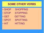 some other verbs1