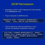 jdom namespaces