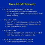 more jdom philosophy