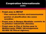 coop ration internationale suite