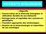 diversite biologique