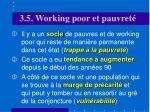 3 5 w orking poor et pauvret1