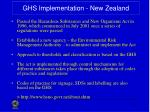 ghs implementation new zealand