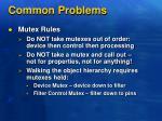 common problems1