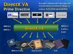 directx va prime directive