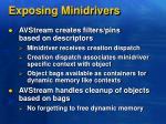exposing minidrivers1