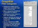 graphedt filter categories