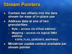 stream pointers1