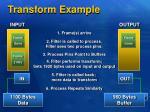 transform example
