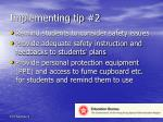 implementing tip 2
