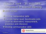 practical work an important component in science learning1