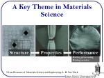 a key theme in materials science