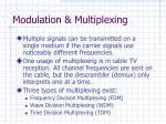 modulation multiplexing