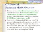 osi network reference model overview