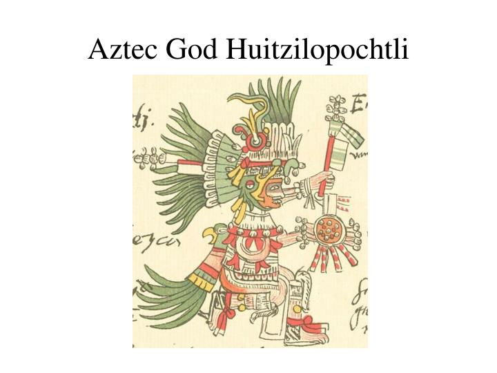 Aztec God Huitzilopochtli