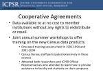 cooperative agreements1