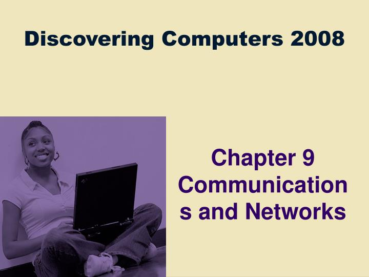 chapter 9 communications and networks n.