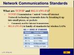 network communications standards1