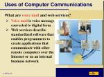 uses of computer communications6