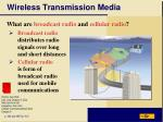 wireless transmission media1