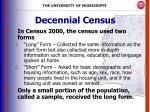 decennial census