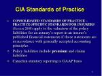 cia standards of practice