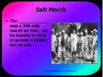 salt march