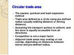 circular trade area