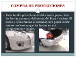 compra de protecciones