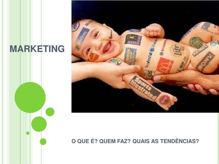 marketing n.