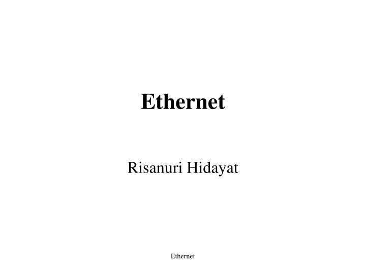 ethernet n.