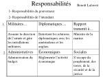 responsabilit s