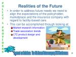 realities of the future