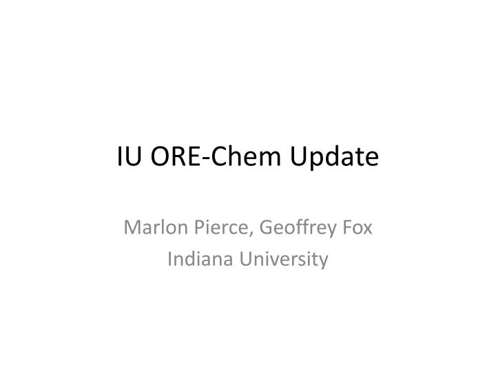 iu ore chem update n.
